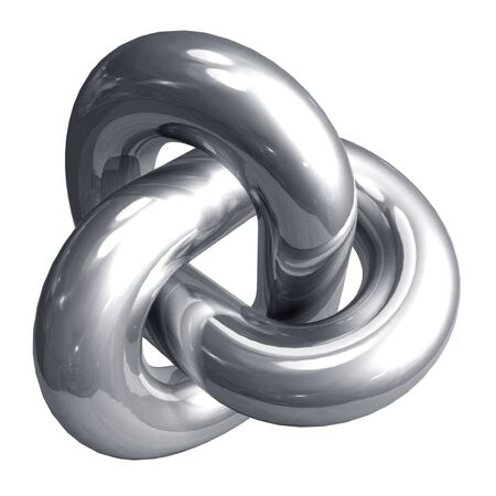 knoop: Abstract metal shape