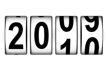 New Year counter Stock Photo - 5645268