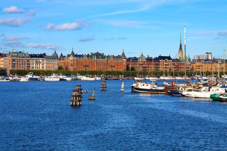 The Old Town in Stockholm, Sweden photo