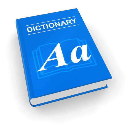 pronunciation in letters: Blue dictionary