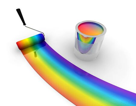 rainbow print: Rainbow decoration
