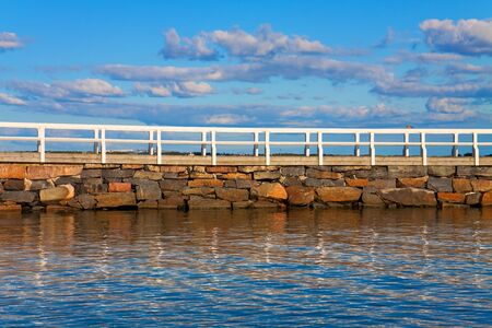 Sea pier photo