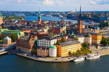 Panorama van Stockholm, Zweden