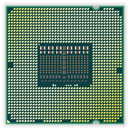 Processor bottom Vector
