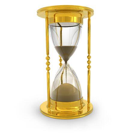 minutes: Golden hourglass