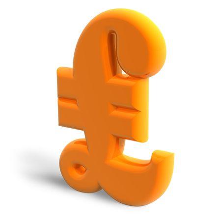 pound sterling: Pound sterling symbol