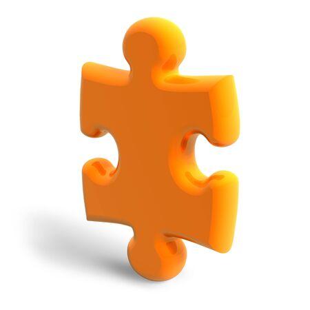 Puzzle piece photo