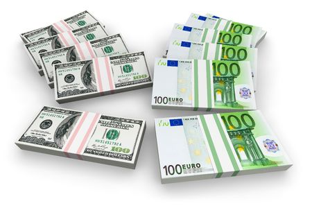 batch of euro: Dollars or Euro?