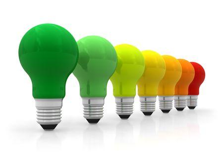 effizient: Energie-Effizienz-Konzept