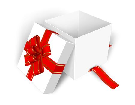 Empty opened gift box Stock Photo - 6182674