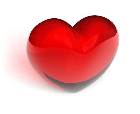 Crystal heart photo