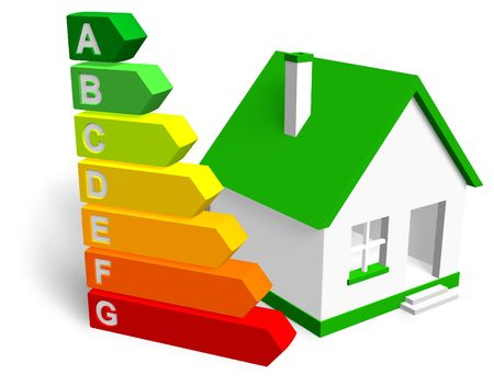 energy efficient: Energy efficiency concept