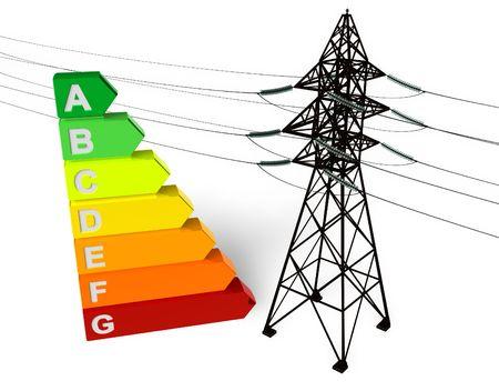 effizient: Energieeinsparung Konzept