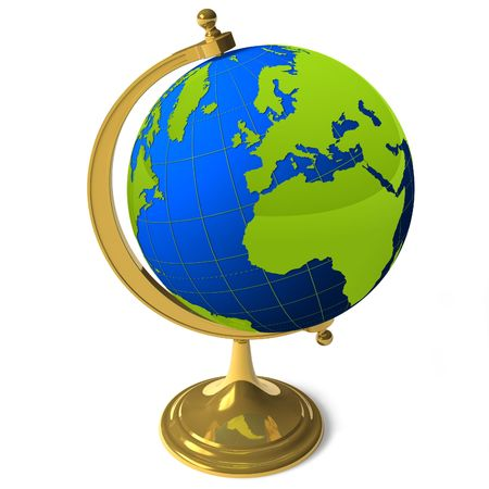 School globe photo