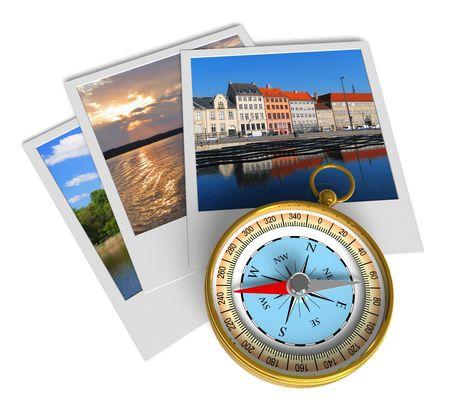 diaporama: Concept de tourisme