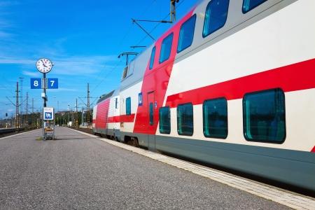 Passenger train departure Stock Photo - 6567036