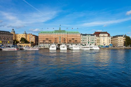 Stockholm cityscape photo