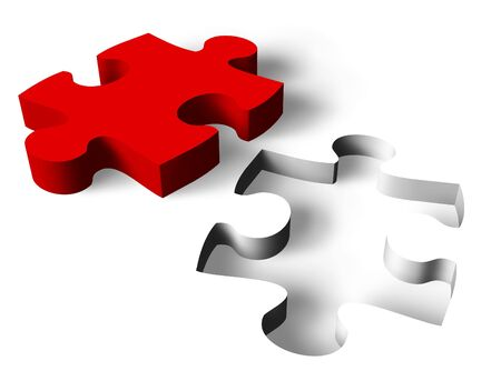 puzzle shape: Success concept