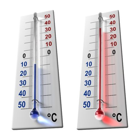 term�metro: Conjunto de term�metros
