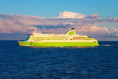 Big cruise liner Stock Photo - 6661358