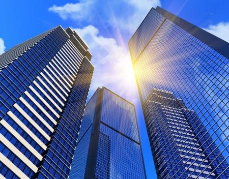 Edificios de negocios moderno
