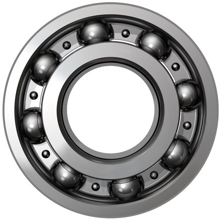 lubricant: Ball bearing Stock Photo