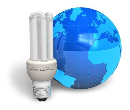 Energy efficiency concept Stock Photo - 6784185