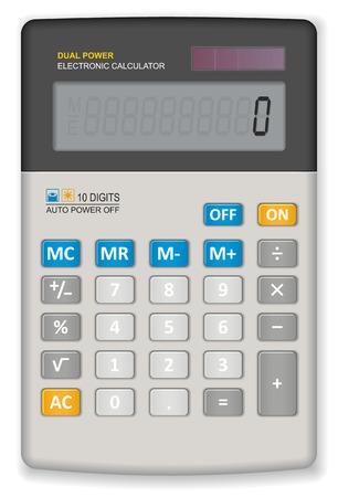 subtract: Office calculator Illustration