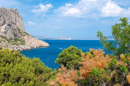 crimean: Summer Crimean landscape Stock Photo