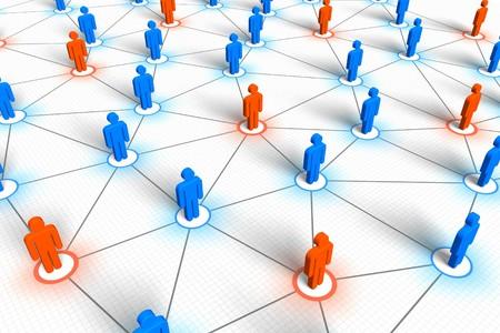 Social network concept Stock Photo - 7202864