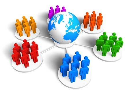 Global communication concept Stock Photo - 7226456