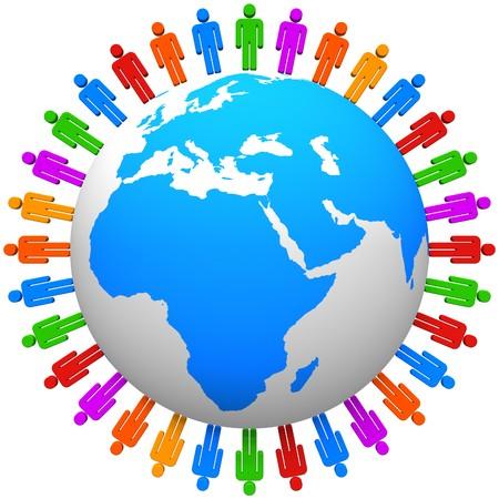 Global communication concept Stock Photo - 7226462