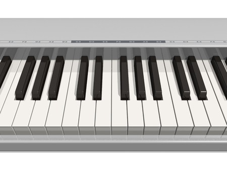 synthesizer: Synthesizer keyboard Stock Photo