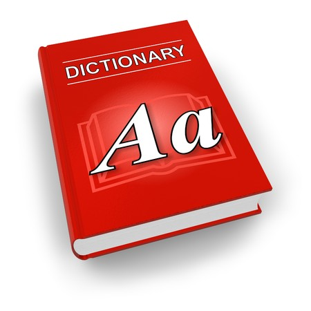 Red dictionary photo