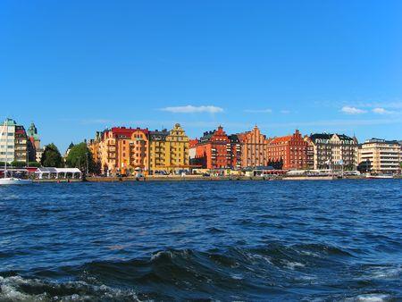 Stockholm cityscape photo