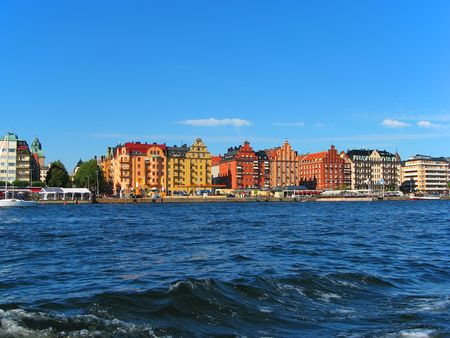 Stockholm cityscape Stock Photo - 7311869