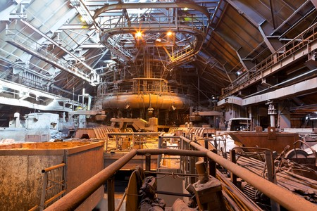 blastfurnace: Blast-furnace shop Stock Photo