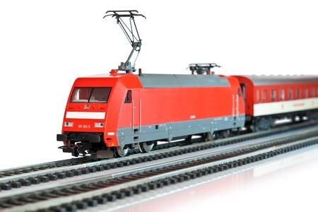 Miniature train photo