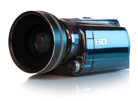 video camera: High definition camcorder