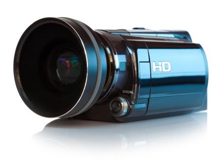 television camera: High definition camcorder