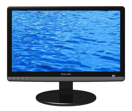 Widescreen TFT display photo