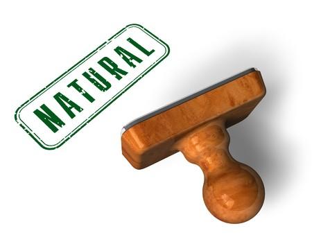 original ecological: Natural stamp