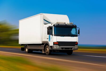 ciężarówka: Ciężarówka maÅ'e Zdjęcie Seryjne