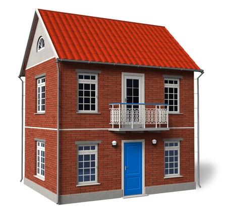 Double-floor cottage Stock Photo - 7553238