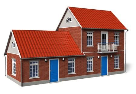 Modern cottage Stock Photo - 7553239