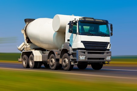 Concrete mixer photo