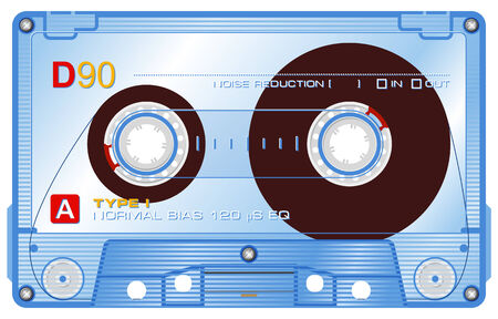 boom: Audio cassette Illustration