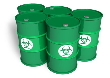 Poisonous barrels Stock Photo - 7648540