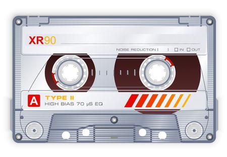 grabadora: Casetes de audio  Vectores