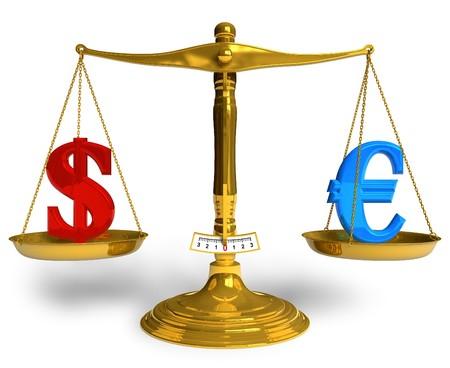 Dollar or Euro? photo